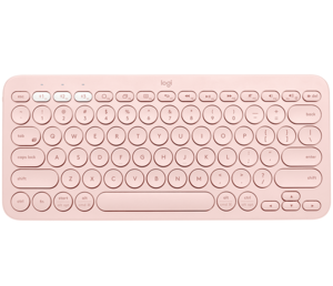 Logitech Pebble K380 Bluetooth tipkovnica, Wireless, Roza