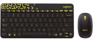 Logitech MK240 tipkovnica + miš, Nano, HR Layout, Wireless
