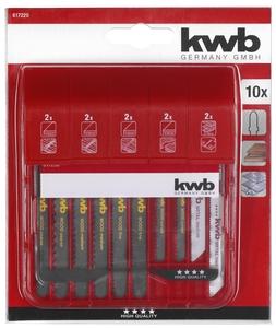 KWB set listova za ubodnu pilu, 10/1, S20, JIGGER Bl box