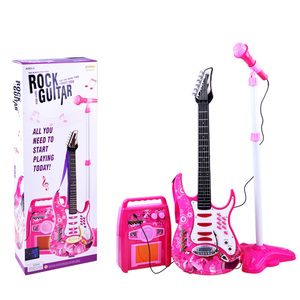 Gitara i mikrofon - Roza