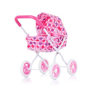Chipolino kolica za lutke Lora pink