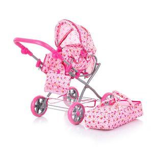 Chipolino kolica za lutke Nelly pink