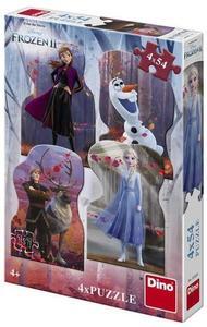 Puzzle 4x54 kom Frozen 2