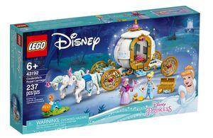 LEGO Disney Princess Pepeljugina kraljevska kočija 43192