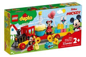 LEGO DUPLO Mickeyjev i Minniein rođendanski vlak 10941