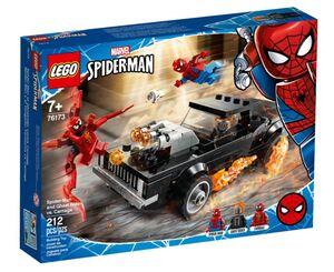 LEGO Super Heroes Spider-Man i Ghost Rider protiv Carnagea 76173