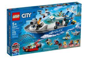 LEGO City Policijski patrolni čamac 60277