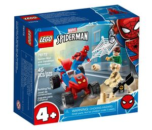 LEGO Super Heroes Spider-Man i Sandman Showdown 76172