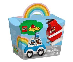 LEGO DUPLO Vatrogasni helikopter i policijski auto 10957