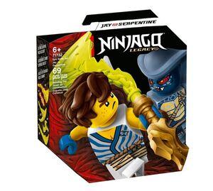 LEGO Ninjago Komplet za epsku bitku - Jay protiv serpetinea 71732