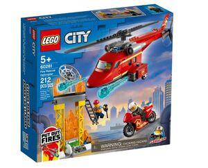 LEGO City Vatrogasni spasilački helikopter 60281