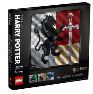 LEGO ART Harry Potter™ Grbovi škole Hogwarts™ 31201