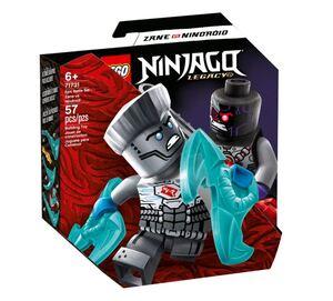 LEGO Ninjago Komplet za epsku bitku - Zane protiv nindroida 71731