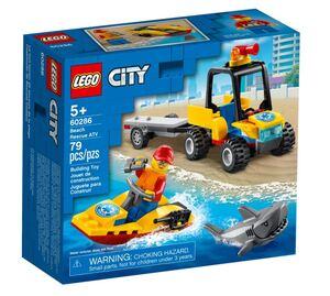 LEGO City ATV za spašavanje na plaži 60286