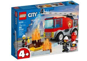 LEGO City Vatrogasni kamion s ljestvama 60280