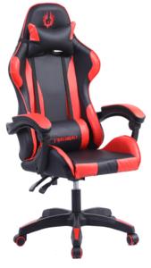 Firebird Gorgon gaming stolica, crno/crvena