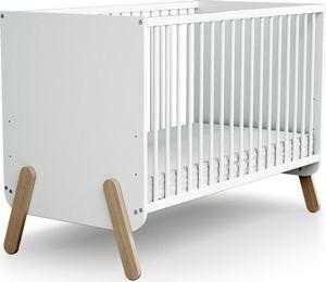 AT4 Dječji krevetić Pirate 120 x 60 cm - bukva, bijeli