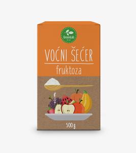 Green Lab Fruktoza, voćni šećer, 500 g
