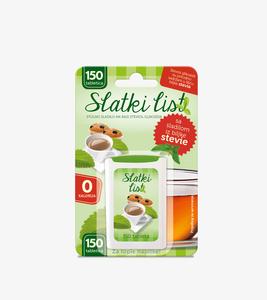 GreenLab Slatki list stevia u tableticama, 150 tabletica