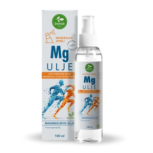 GreenLab Magnezijevo ulje, mineralni sprej, 100 ml