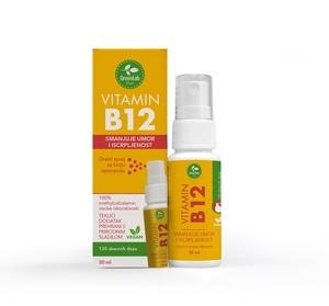 GreenLab Vitamin B12 oralni sprej, 30 ml