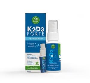 GreenLab Vitamin K2D3 Forte oralni sprej, 30 ml
