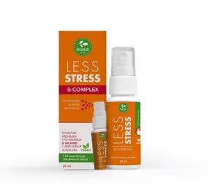 GreenLab Vitamini B Complex Less Stress oralni sprej, 25 ml