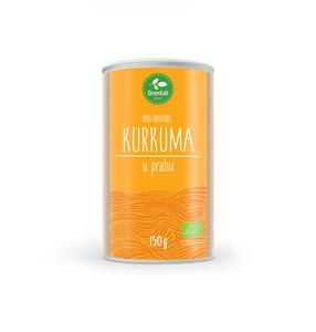 GreenLab Kurkuma u prahu organic, 150 g