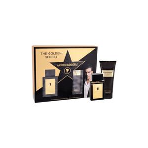 Antonio Banderas Golden Secret 2 Piece Set - EDT 50 ml -  Aftershave Balm 100 ml, muški poklon set