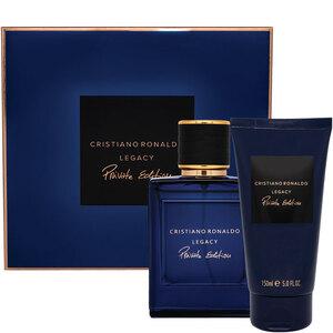Cristiano Ronaldo Legacy Private Edition EDP Gift Set : EDP 50 ml - Shower Gel 150 ml, muški poklon set