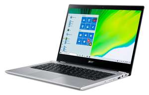 Acer Spin 3 NX.A4GEX.00C, 14 FHD IPS Touchscreen, AMD Ryzen 5 3500U, 8GB RAM, 512GB PCIe NVMe SSD, AMD Radeon Vega 8, Windows 10 Home, laptop