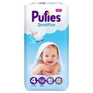 PUFIES Pelene Sensitive MAXI 56 (VEL 4, 9-14 kg)