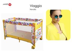 Baciuzzi Playard putni dječji krevetić Nevallo