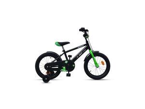 """SKY dječji bicikl ROCKET 16"""" crno zeleni"""