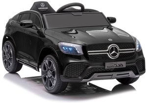 Licencirani auto na akumulator Mercedes GLC Coupe crni lakirani