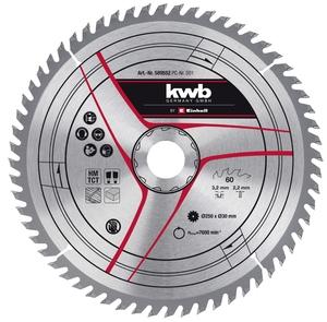 KWB rezni list 250x30x3,2 mm/2,2 mm, 60Z za TC-TS 2025