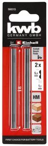 KWB set noževa za blanju, 2/1, TC 5.5x82x1.1, za TE-PL 900, TC-PL 750
