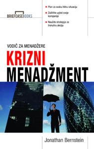 KRIZNI MENADŽMENT, J. Bernstein, B. Bonafede