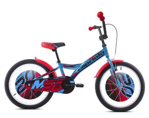"""CAPRIOLO dječji bicikl BMX 20""""HT MUSTANG crveno/plavi"""