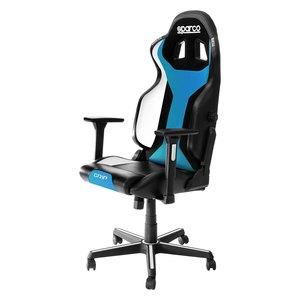 Sparco Grip gaming stolica, crno/nebesko plava