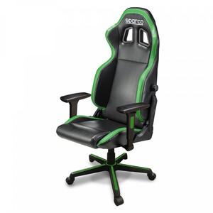 Sparco Icon gaming stolica, crno/zelena