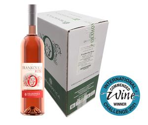 PP ORAHOVICA Frankovka Rose kvalitetno vino 0,75 l karton 6 boca