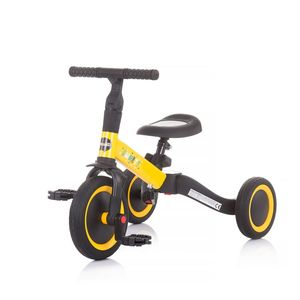 Chipolino tricikl/balance bike 2u1 Smarty Yellow