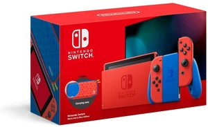 Nintendo Switch Console MARIO RED & BLUE (SPECIAL EDITION)