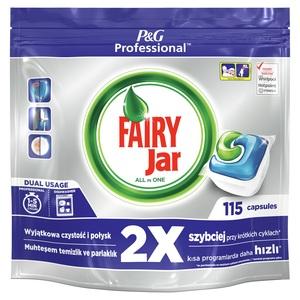 Jar Fairy All in One Professional 115 komada, tablete za strojno pranje posuđa