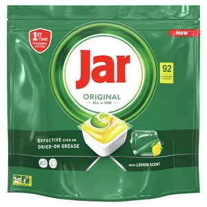 Jar All in One Lemon 92 komada, tablete za strojno pranje posuđa