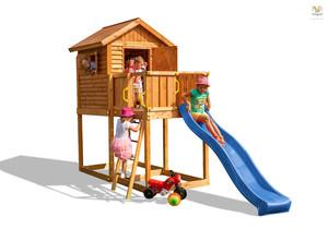 Fungoo drveno dječje igralište - Kućica MYHOUSE