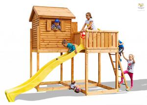 Fungoo drveno dječje igralište - Kućica MYSIDE