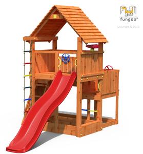 Fungoo drveno dječje igralište BIG LEADER toranj
