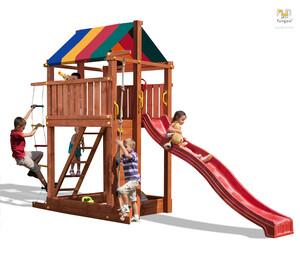 Fungoo drveno dječje igralište PARADISE toranj